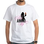 AMMO Wife with Piss Pot White T-Shirt