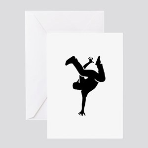 Breakdance Greeting Card