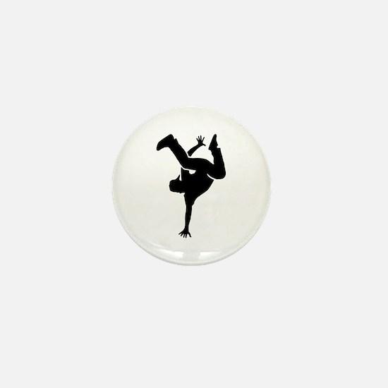 Breakdance Mini Button