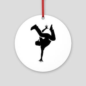 Breakdance Round Ornament