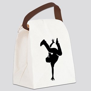 Breakdance Canvas Lunch Bag