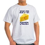 Jews for Cheeses Ash Grey T-Shirt