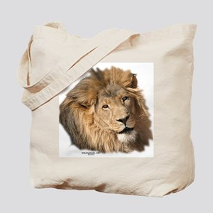 Caring Lion Tote Bag