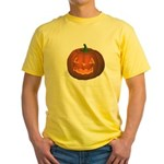 Halloween Yellow T-Shirt
