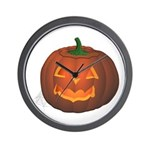 Halloween Wall Clock Jack-o-lantern art