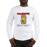 Halloween Skull Fire Trick or Long Sleeve T-Shirt