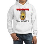 Halloween Skull Fire Trick or Hooded Sweatshirt
