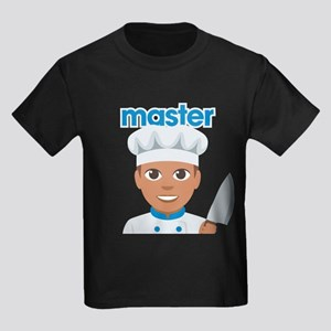 Emoji Master Chef Kids Dark T-Shirt