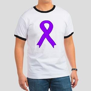 Violet Ribbon Ringer T