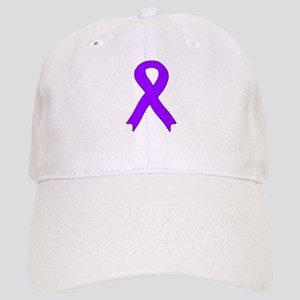 Violet Ribbon Cap