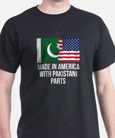 Made In America With Pakistani Parts T-Shirt