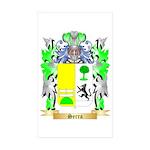 Serra Sticker (Rectangle 50 pk)