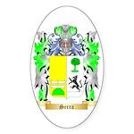 Serra Sticker (Oval 50 pk)