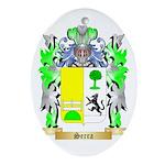 Serra Oval Ornament
