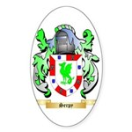 Serpy Sticker (Oval)