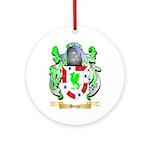 Serpy Round Ornament