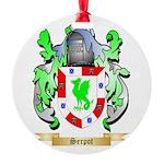 Serpot Round Ornament