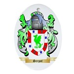 Serpot Oval Ornament