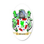 Serpinet Oval Car Magnet