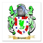 Serpinet Square Car Magnet 3