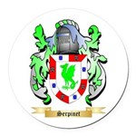 Serpinet Round Car Magnet