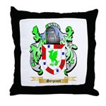 Serpinet Throw Pillow