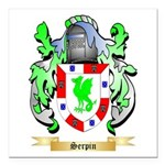 Serpin Square Car Magnet 3