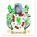 Serpe Square Car Magnet 3