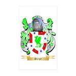 Serpe Sticker (Rectangle 10 pk)