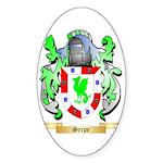Serpe Sticker (Oval)
