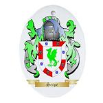 Serpe Oval Ornament