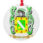 Serna Round Ornament