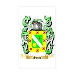 Serna Sticker (Rectangle 10 pk)