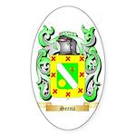 Serna Sticker (Oval 50 pk)