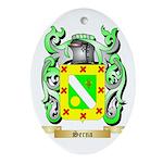 Serna Oval Ornament