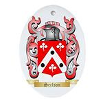 Serlson Oval Ornament