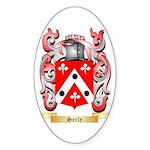 Serle Sticker (Oval 50 pk)