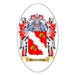 Serjeantson Sticker (Oval 10 pk)