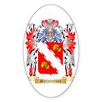 Serjeantson Sticker (Oval 50 pk)