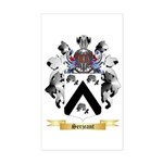 Serjeant Sticker (Rectangle)