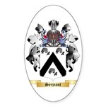 Serjeant Sticker (Oval)