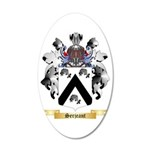 Serjeant 35x21 Oval Wall Decal