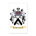 Serjeant 20x12 Wall Decal