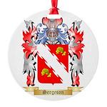 Sergeson Round Ornament