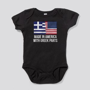 Made In America With Greek Parts Baby Bodysuit