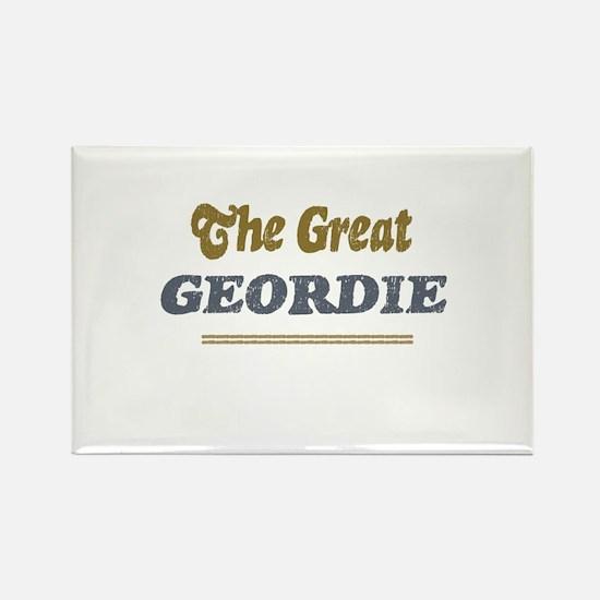 Geordie Rectangle Magnet