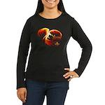 Phoenix Women's Long Sleeve Dark T-Shirt
