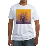 29.christmas tree.. Fitted T-Shirt