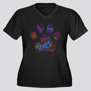 All Lives Matter Plus Size T-Shirt