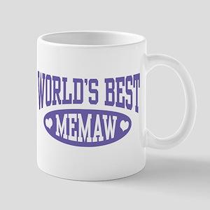 World's Best MeMaw Mug